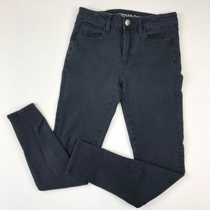 American Eagle Outfitters Jeans - American Eagle   Hi Rise Skinny Jegging X4 Denim